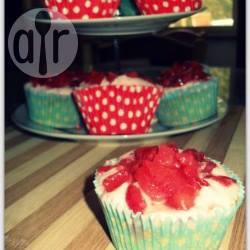 Cupcake con crema al mascarpone e fragole