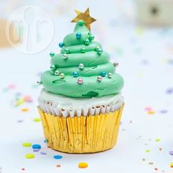 Cupcake ad albero di natale