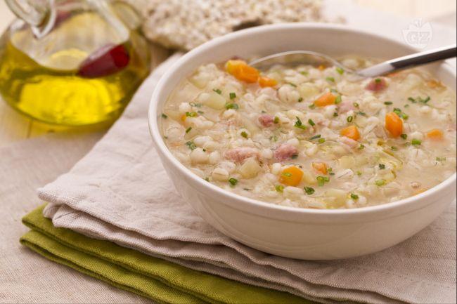 Ricetta minestrone d'orzo