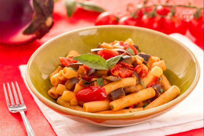 Ricetta pasta con le melanzane