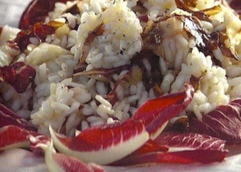 Insalata di riso al radicchio