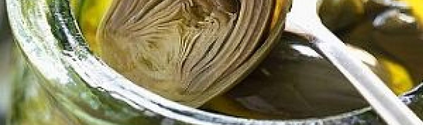 Ricetta carciofini sott'olio