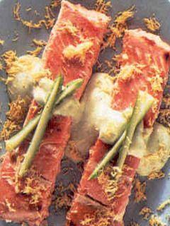 Ricetta salmone in salsa