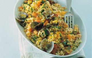Ricetta insalata di riso, vongole e pomodorini