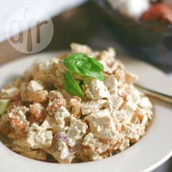 Insalata di pollo al curry