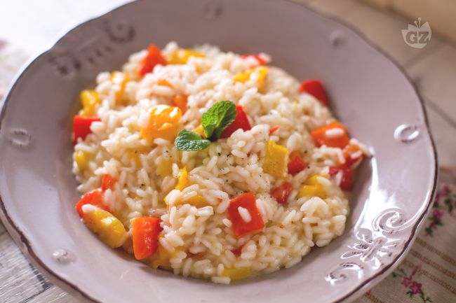 Ricetta risotto ai peperoni