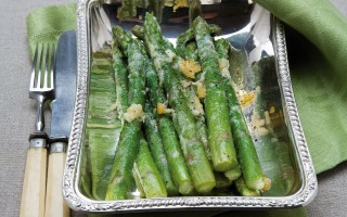 Ricetta asparagi al burro