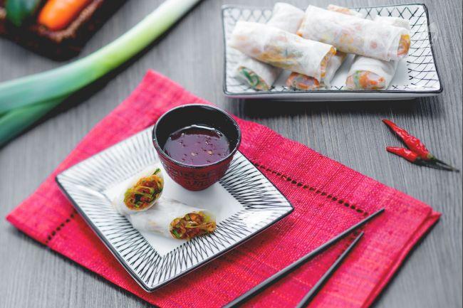 Ricetta involtini vietnamiti con salsa agrodolce