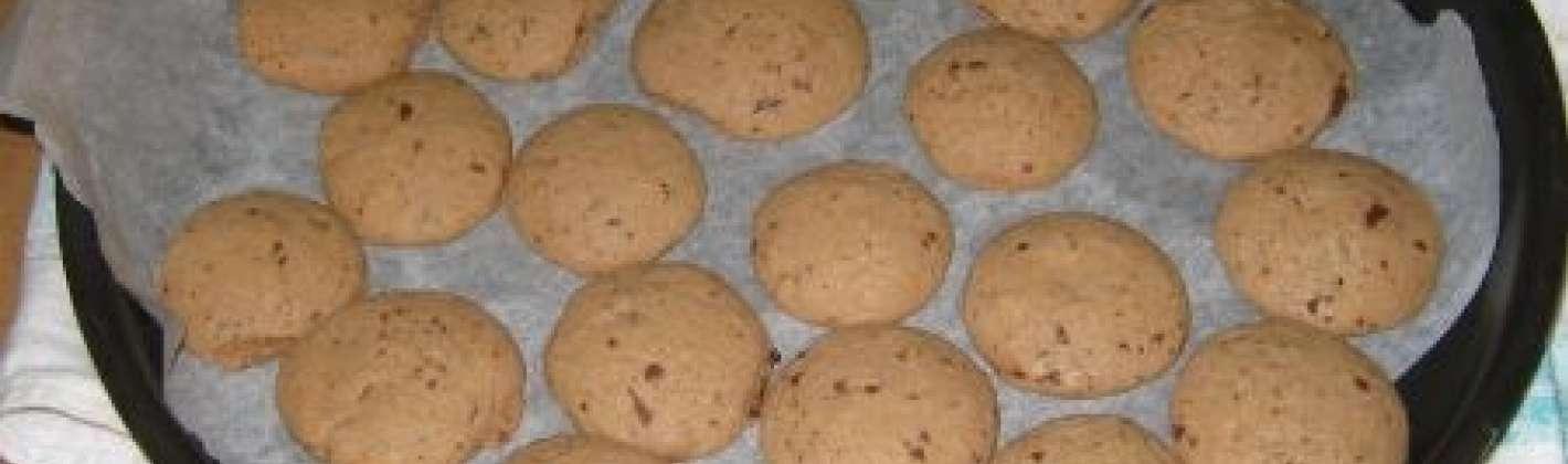 Ricetta gocciole biscotti al cacao