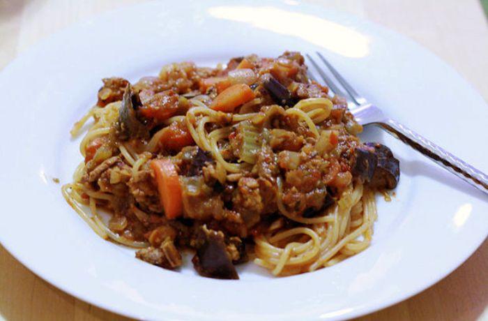 Ricetta Bolognese Vegetariana.Ricetta Salsa Bolognese Vegana Le Ricette Di Buonissimo