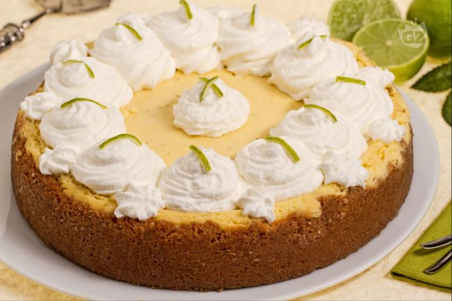 Ricetta key lime cheesecake