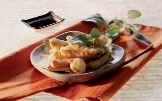 Ricetta tempura di verdure con salsa alla soia