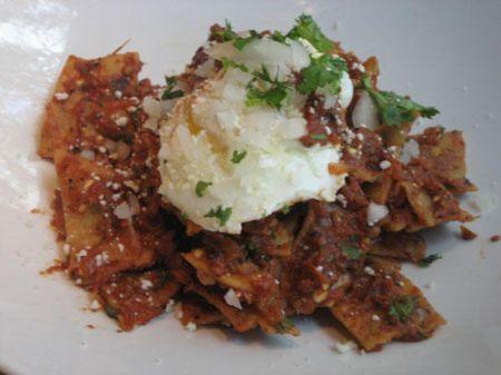 Ricetta chilaquiles (bruschette messicane)