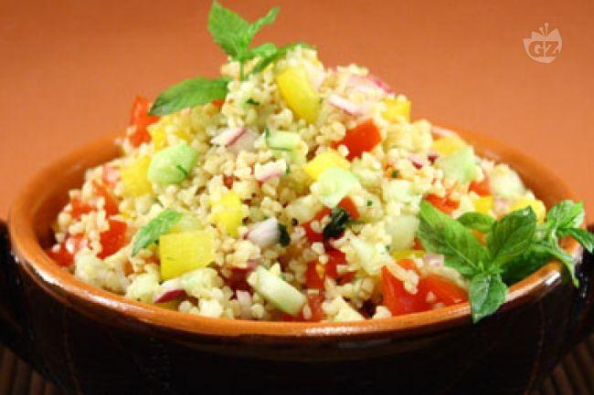 Ricetta tabuleh con verdure