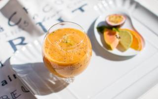 Ricetta smoothie al frutto della passione, agrumi e papaya ...