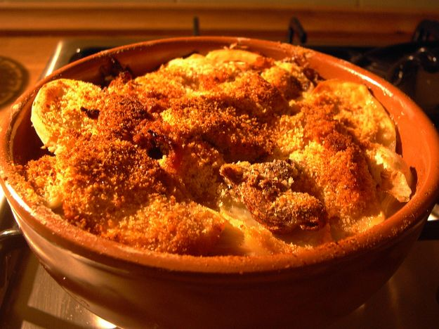 Ricetta ricette sformato di patate e funghi