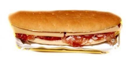Ricetta panino con salame e gorgonzola