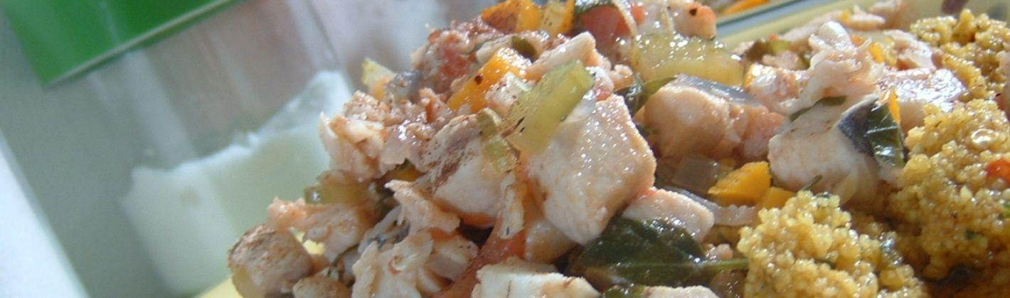 Ricetta cous cous con pesce e verdure