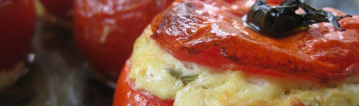 Ricetta pomodori gratinati al gorgonzola