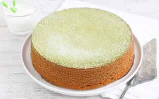 Ricetta torta al tè matcha