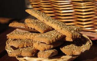 Ricetta biscotti rustici al sesamo