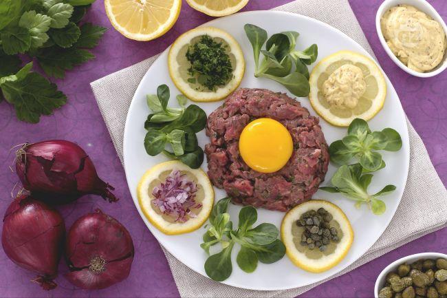 Ricetta bistecca alla tartara