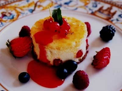 Ricetta semifreddo alla ricotta con gelatina di frutta