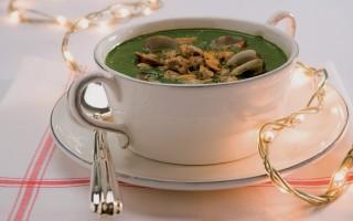 Ricetta crema di spinaci alle vongole