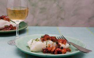 """Ricetta baccalà con peperoni """"cruschi"""""""