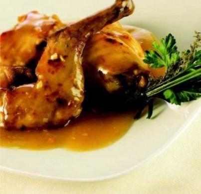 Ricetta coniglio in salsa di mandorle