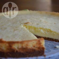 Cheesecake giapponese al cioccolato bianco