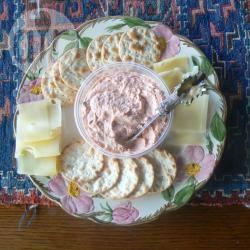 Mousse di salmone e formaggio cremoso