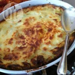 Crespelle al forno con porcini e spinaci