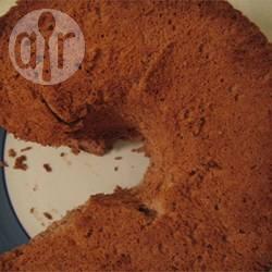 Angel food cake al cioccolato