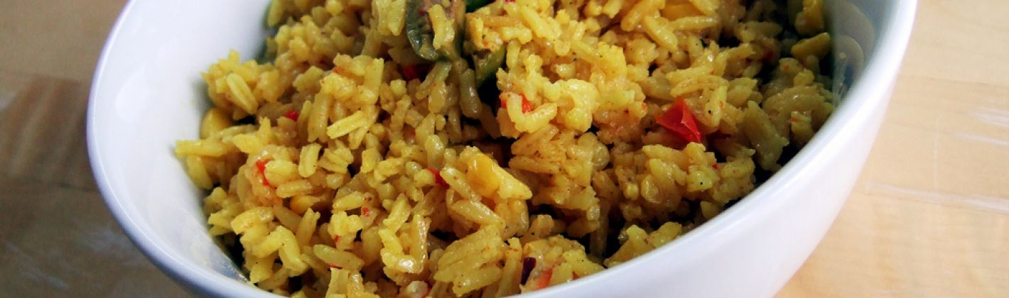 Ricetta insalata di riso gialla