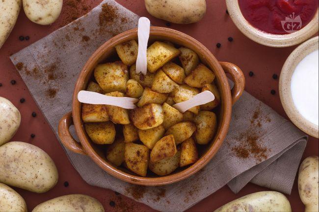 Ricetta patatas bravas