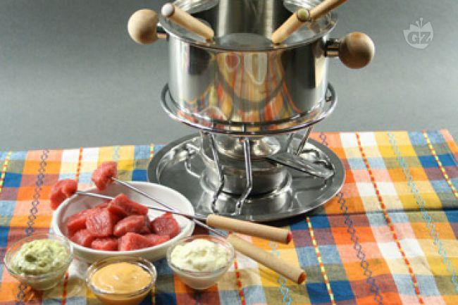 Ricetta fondue bourguignonne