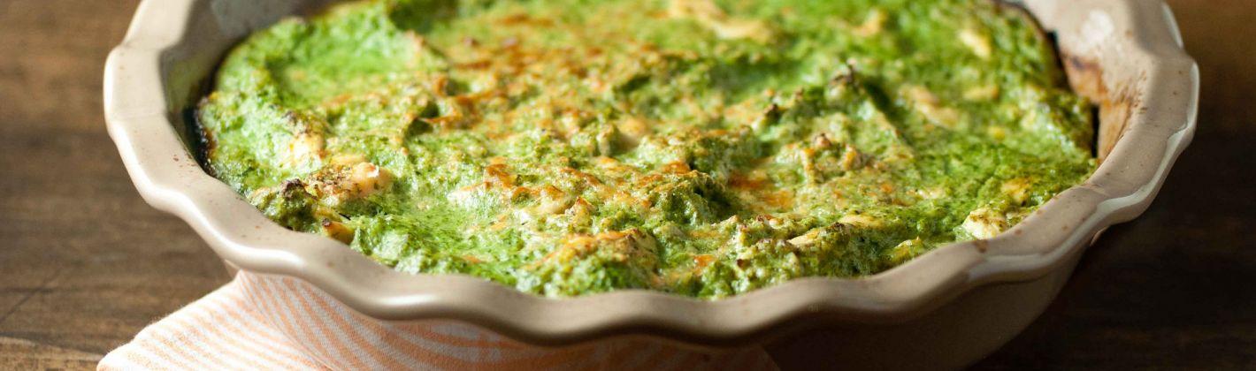 Ricetta sformato di spinaci