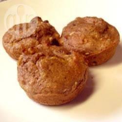 Muffin leggeri alla mela e crusca