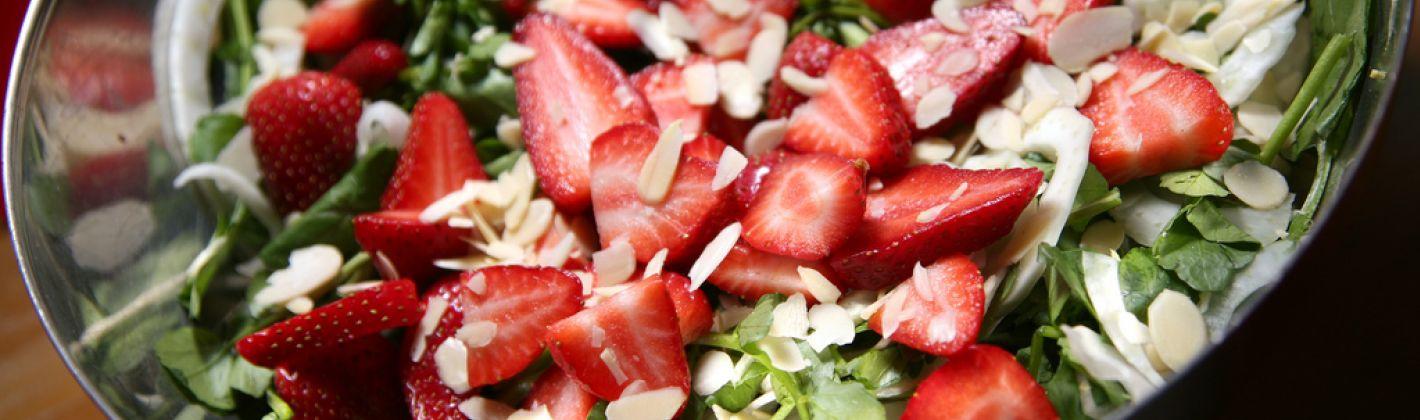 Ricetta insalata di fragole
