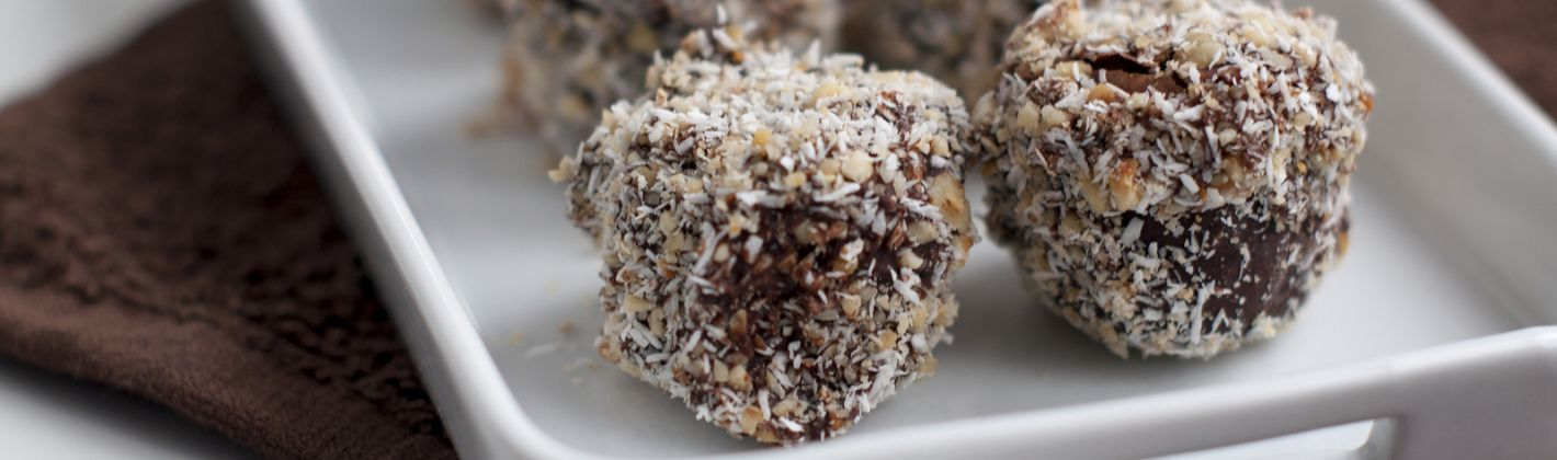 Ricetta cioccolatini al cocco