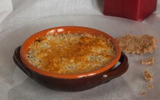 Ricetta zuppa di porri e patate al gratin con finocchietto