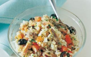 Ricetta insalata di riso al tonno sott'olio