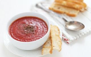Ricetta zuppa di pomodori arrosto