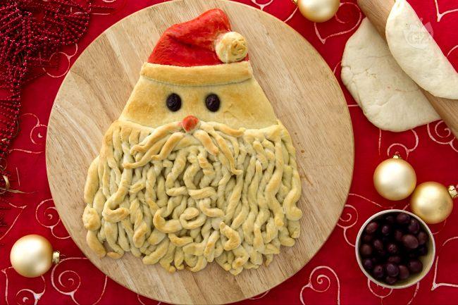 Antipasti A Forma Di Babbo Natale.Ricetta Pane Di Babbo Natale Ricetta