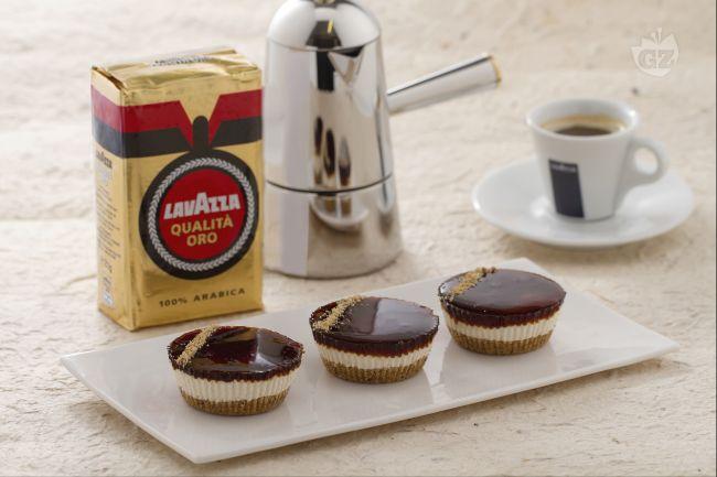 Ricetta mini cheesecake al caffè