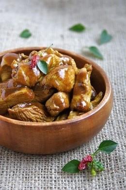 Ricetta curry di pollo al miele