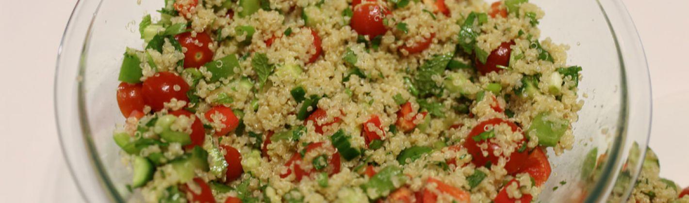 Ricetta taboulé di quinoa