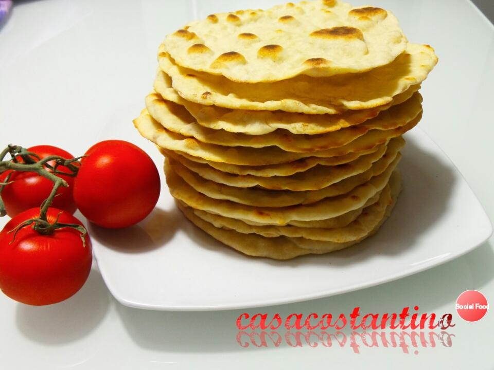 Tortillas di grano