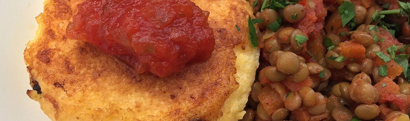 Ricetta polenta al forno con zucchine e quartirolo lombardo